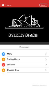 Sydney Space poster