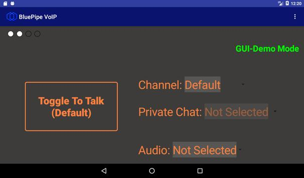 BluePipe VoIP apk screenshot