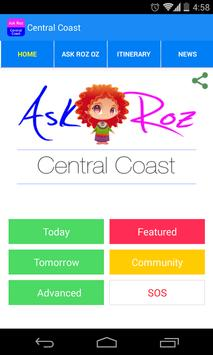 Ask Roz Central Coast poster