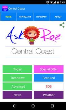 Ask Roz Central Coast apk screenshot