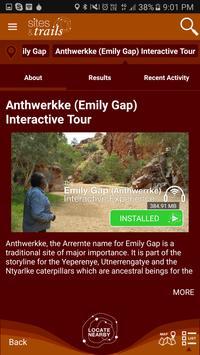 Sites and Trails screenshot 3