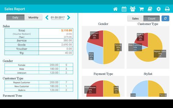 TapStyle for hair salon apk screenshot