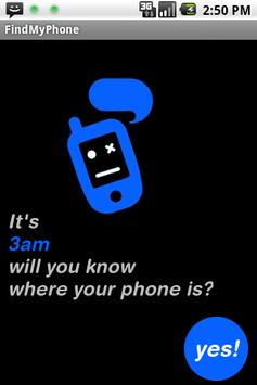 FindMyPhone poster