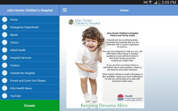 John Hunter Childrens Hospital apk screenshot
