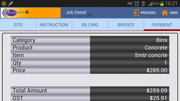 ServicePRO-Online (Bin Hire) apk screenshot