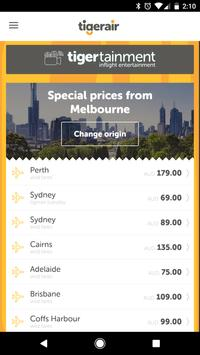 Tigerair Australia screenshot 1