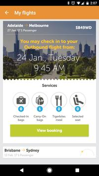 Tigerair Australia screenshot 3