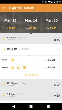 Tigerair Australia screenshot 5