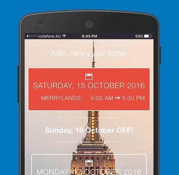 ClocksApp Roster poster