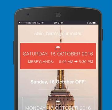 ClocksApp Roster apk screenshot