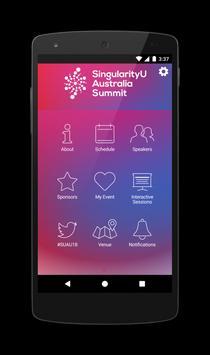 SingularityU Australia Summit poster