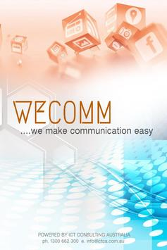 WECOMM1 poster