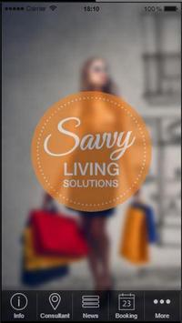 Savvy Living Solutions poster