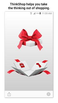 ThinkShop - wish/gift registry poster