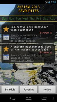 ANZIAM 2013 apk screenshot
