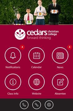 Cedars Christian College poster