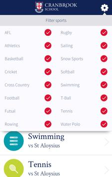 Cranbrook Sports Companion apk screenshot