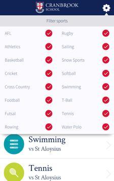 Cranbrook Sports Companion screenshot 1