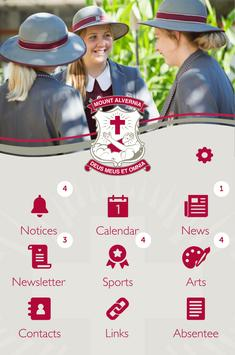 Mount Alvernia College poster