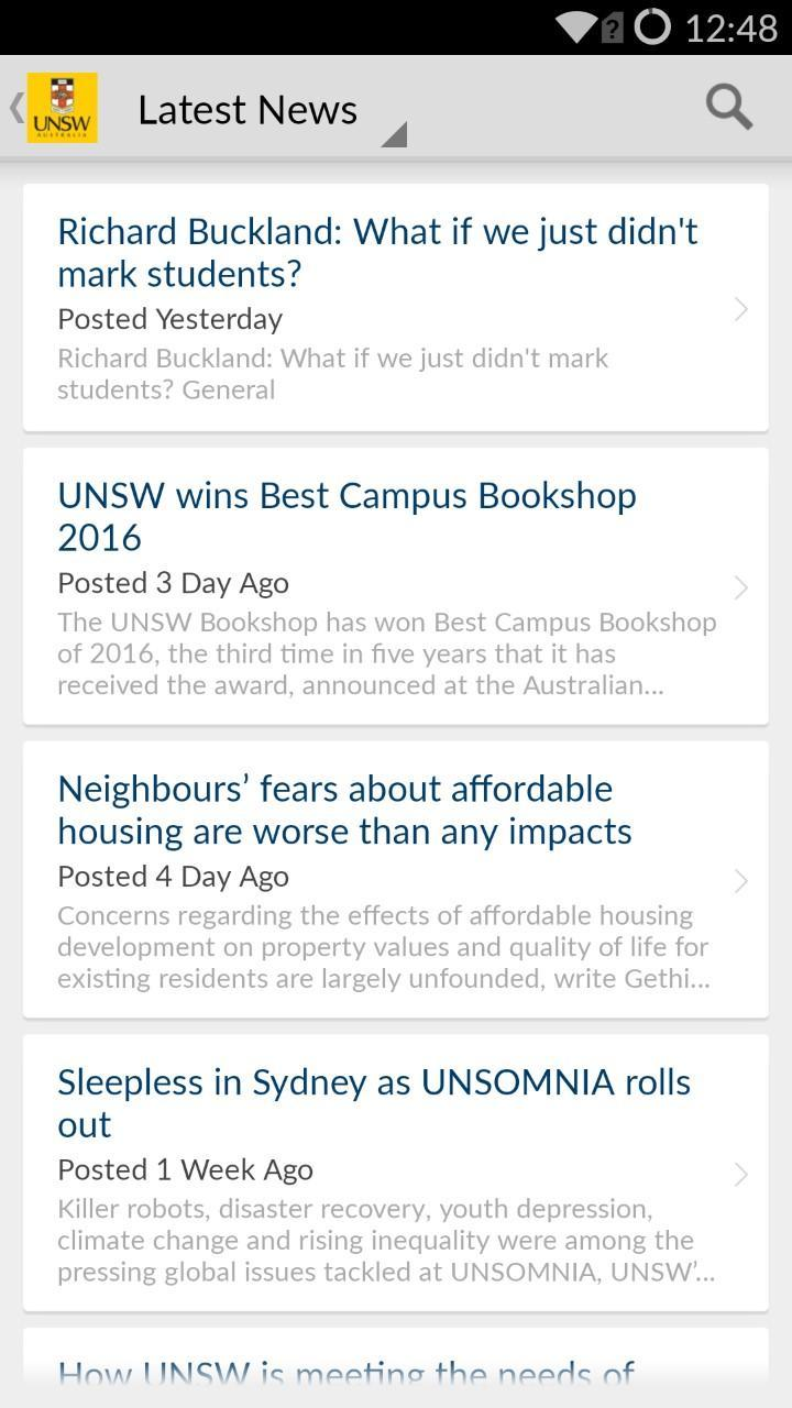 UNSW Uni-Verse for Android - APK Download