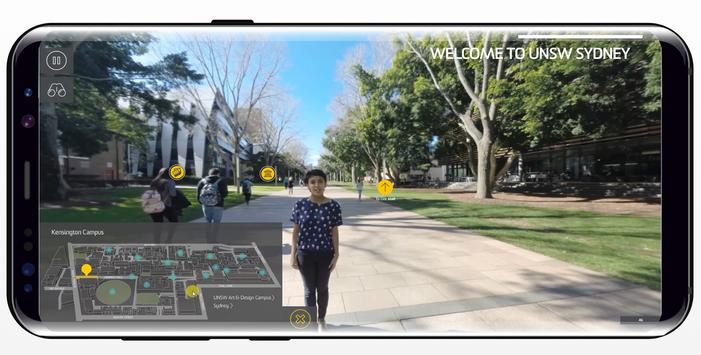 UNSW 360 VR Campus Tour poster