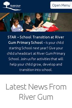 River Gum Primary School poster