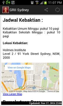 GRII Sydney App apk screenshot