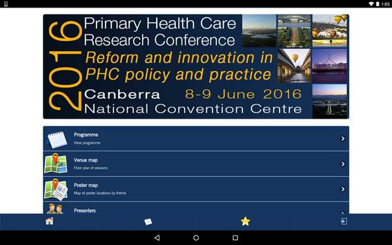 PHC Research Conference 2016 apk screenshot