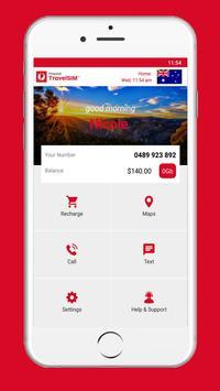 Australia Post Prepaid TravelSIM poster