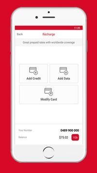 Australia Post Prepaid TravelSIM apk screenshot