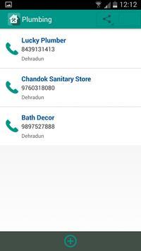 Quick Contacts Manager apk screenshot