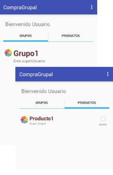 CompraGrupal apk screenshot