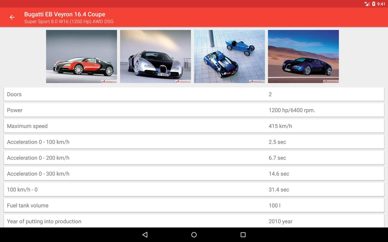 Cars Catalog All Car Information Screenshot 10