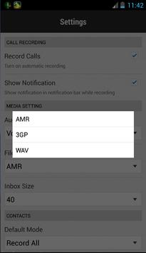 Automatic Call Recorder 2017 screenshot 6