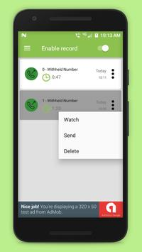 Hide Call Recorder - Auto Call Recorder screenshot 3