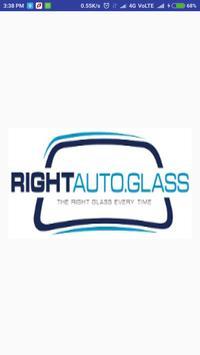 Right Auto Glass poster