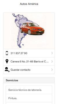 Autos América Ibagué poster