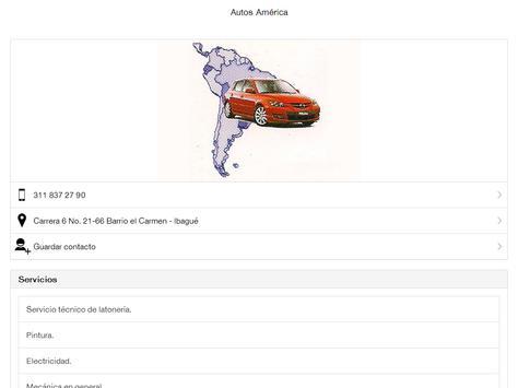 Autos América Ibagué apk screenshot