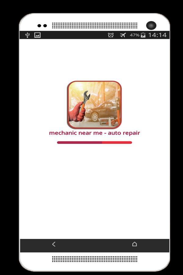 mechanic near me - auto repair poster
