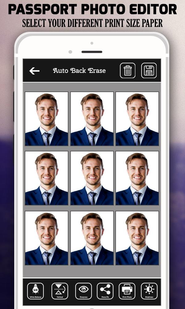 Passport Size Photo Maker for Android - APK Download