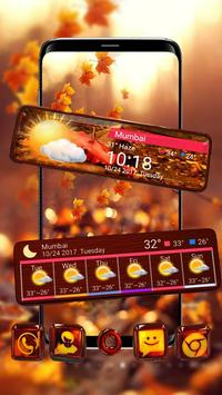 3d Glass Tech Leaf Theme screenshot 2