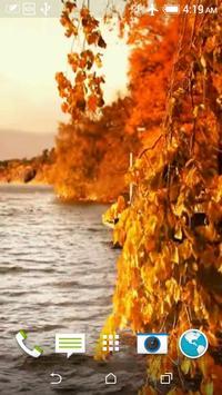 Autumn 3D Video LWP poster