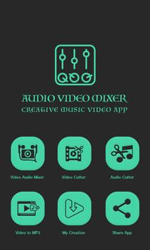 Audio Video Mix Editor poster