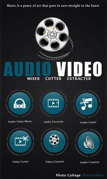 Audio Video Mixer Cutter poster