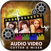 Audio Video Mixer - Video & Music Cutter icon