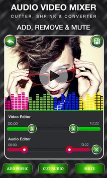 Audio Video Mixer - Video & Music Cutter apk screenshot