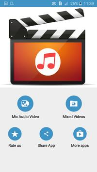 Audio Video Mixer & Audio Video Cutter apk screenshot