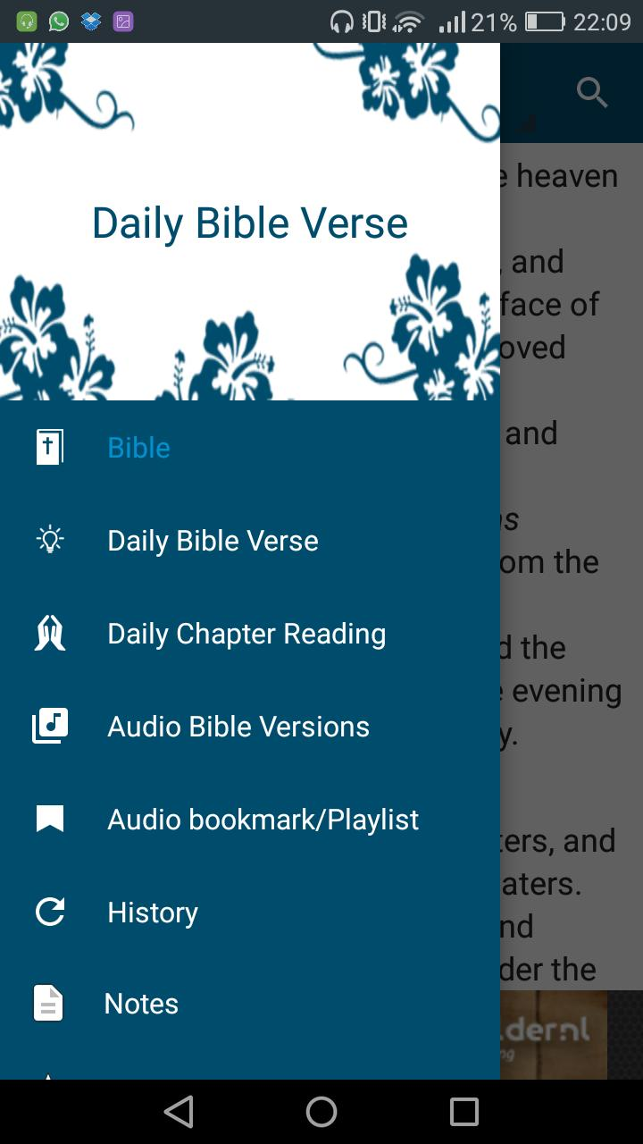 Audio Bible - MP3 Bible Free and Dramatized Bible for Android - APK