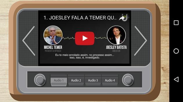 Áudios Vazados do Temer apk screenshot