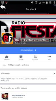 Radio Fiesta de Huanta apk screenshot